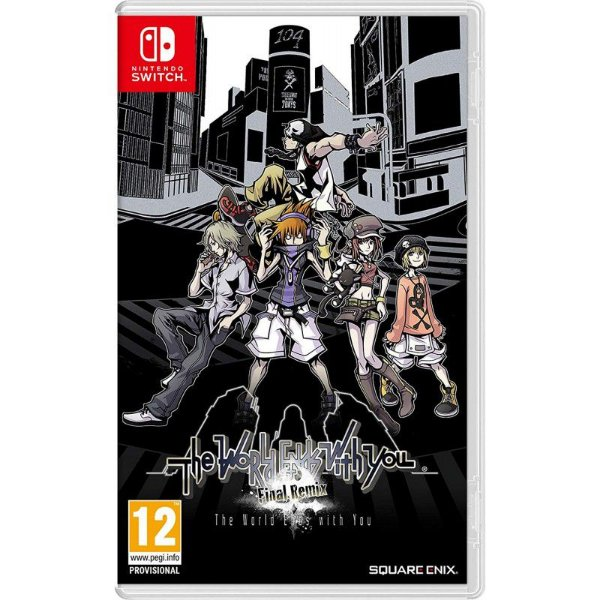 THE WORLD ENDS WITH YOU FINAL REMIX SWITCH