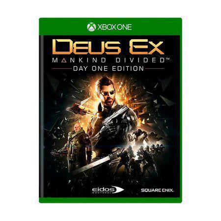 DEUS EX MANKIND DIVIDED XBOX ONE USADO