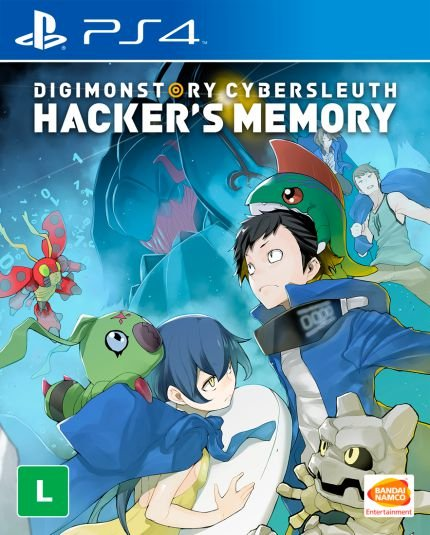 DIGIMON STORY CYBER SLEUTH HACKER.S MEMORY - BLU-RAY - PS4