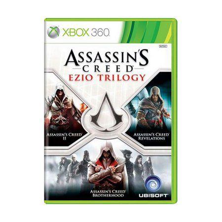 ASSASSINS CREED EZIO TRILOGY X360 USADO