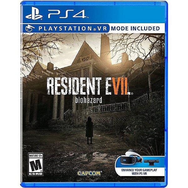 RESIDENT EVIL 7 PS4 USADO