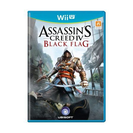 ASSASSINS CREED IV BLACK FLAG WIIU USADO