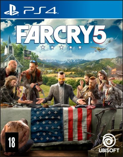 FAR CRY 5 PS4 BR