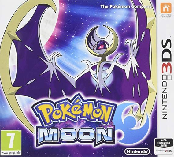POKEMON MOON 3DS USADO