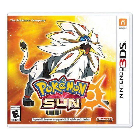 POKEMON SUN 3DS USADO