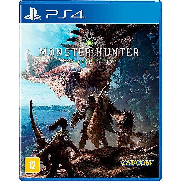 MONSTER HUNTER WORLD PS4 BR USADO