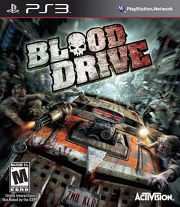 BLOOD DRIVE PS3 USADO
