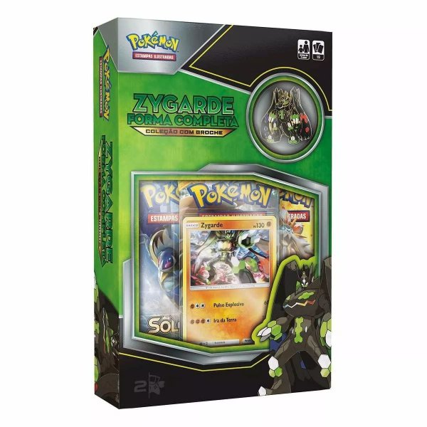 POKEMON MINI BOX  ZYGARDE C/BROCHE