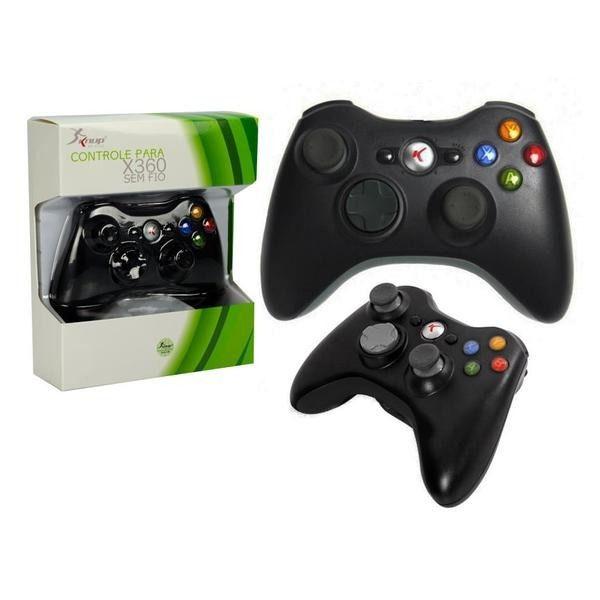 CONTROLE P/ XBOX 360 S/ FIO - KNUP -  KP5122