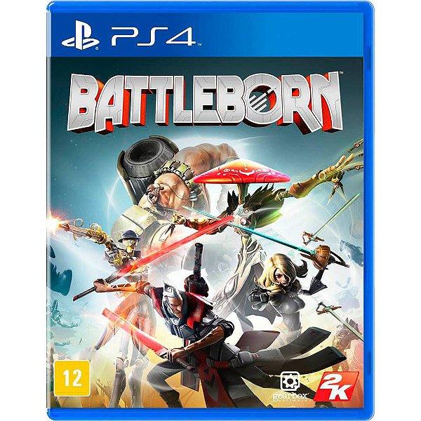 BATTLEBORN - BLU-RAY - PS4