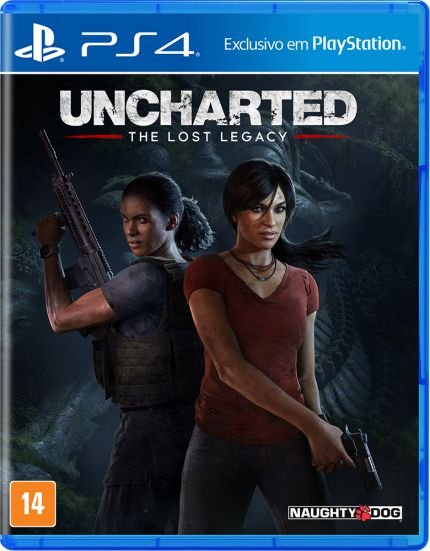 UNCHARTED THE LOST LEGACY PS4 USADO