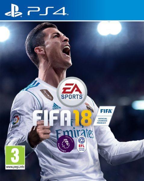 FIFA 18 PS4 USADO