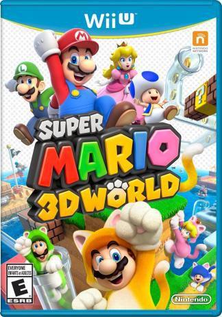 SUPER MARIO 3D WORLD  WII U USADO