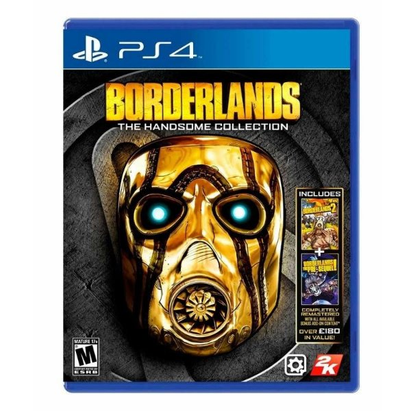BORDERLANDS THE HANDSOME COLLECTION PS4 USADO
