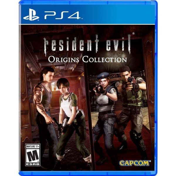 RESIDENT EVIL ORIGINS COLLECTION PS4 USADO