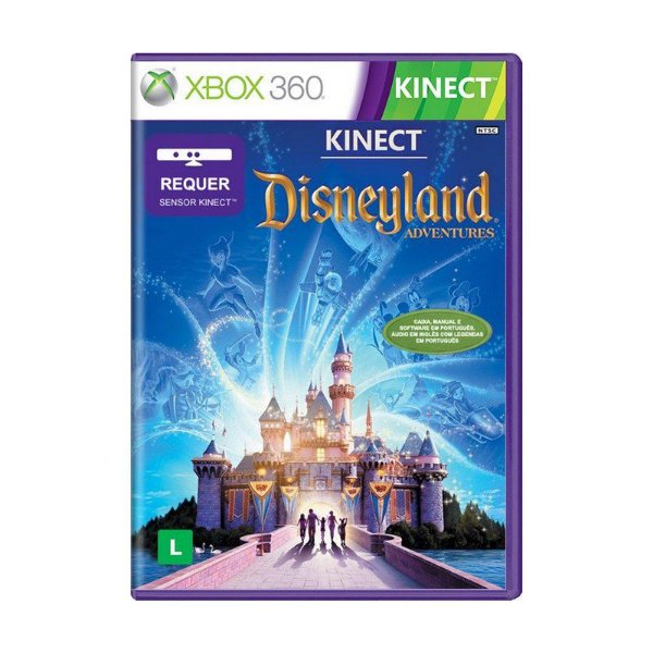 KINECT DISNEYLAND ADVENTURES X360 USADO