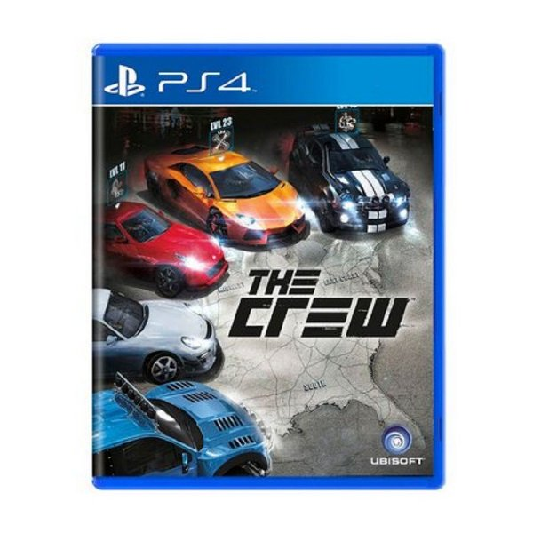 THE CREW PS4 USADO