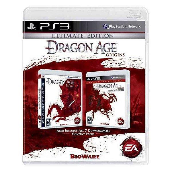 DRAGON AGE ORIGINS ULTIMATE EDITION PS3 USADO
