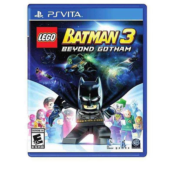 LEGO BATMAN 3 BEYOND GOTHAN PSVITA
