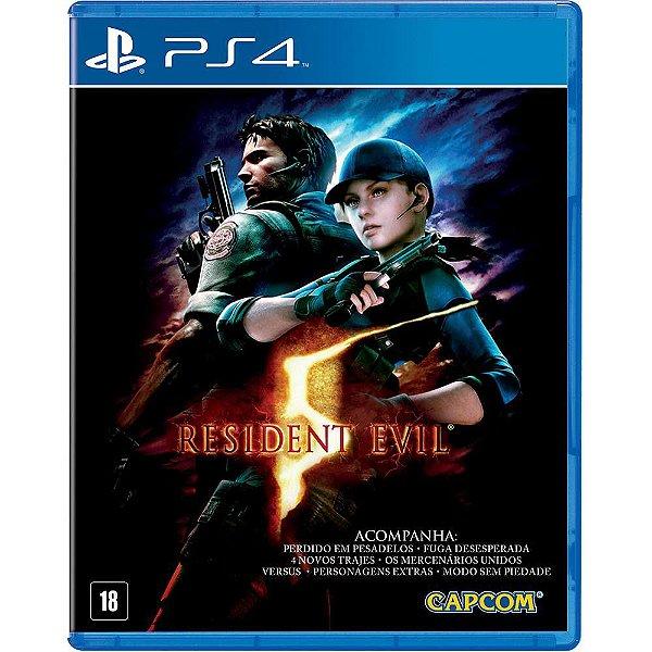 RESIDENT EVIL 5 PS4 USADO