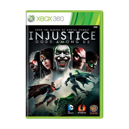 INJUSTICE GODS AMONG US XBOX 360 USADO
