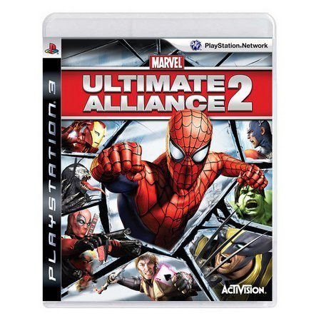 MARVEL ULTIMATE ALLIANCE 2 PS3 USADO