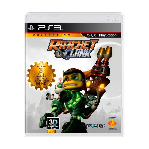 RATCHET & CLANK HD COLLECTION PS3 USADO