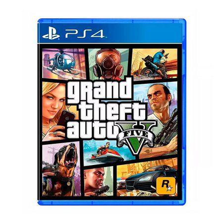 GTA 5 PS4 USADO
