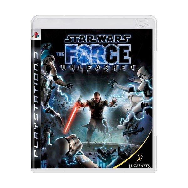 STAR WARS THE FORCE UNLEASHED PS3 USADO