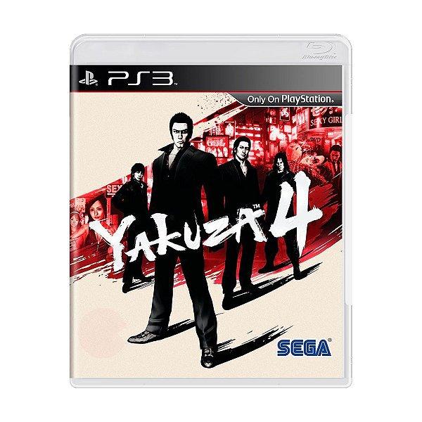 YAKUZA 4 PS3 USADO