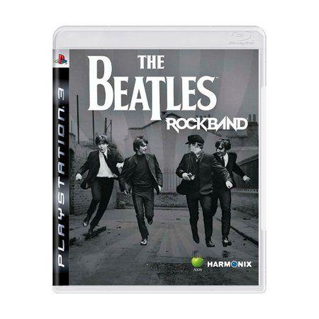 THE BEATLES ROCKBAND PS3 USADO