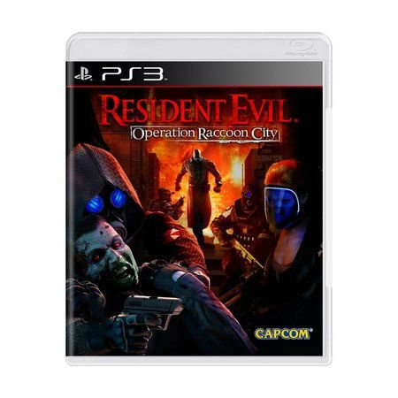 RESIDENT EVIL OPERATION RACON CITY PS3 USADO