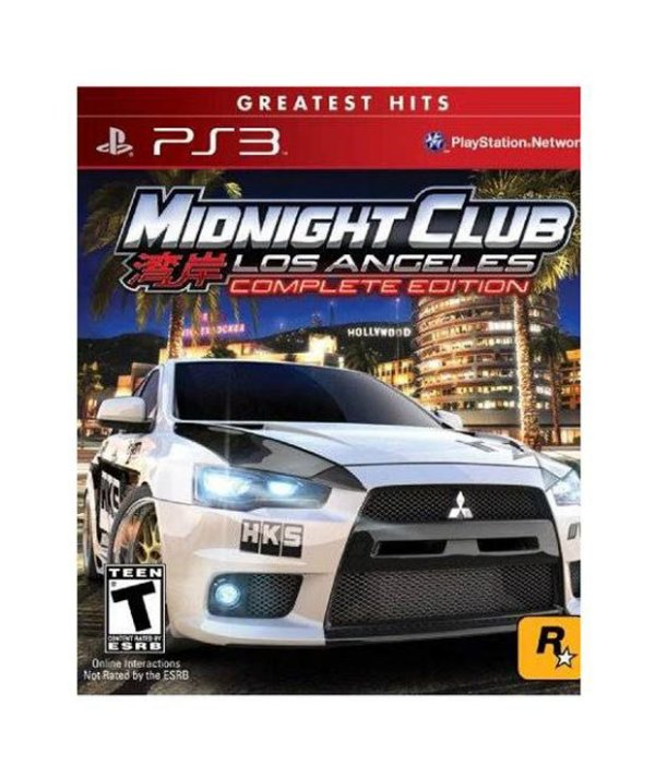 MIDNIGHT CLUB LOS ANGELES COMPLETE EDITION PS3 USADO