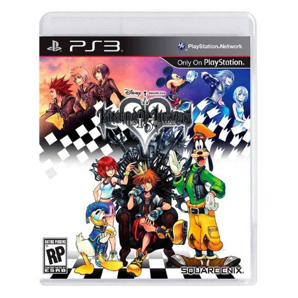 KINGDOM HEARTS HD 1.5 REMIX PS3 USADO