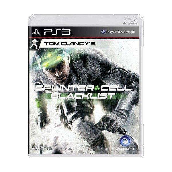 TOM CLANCY'S SPLINTER CELL BLACKLIST PS3 USADO