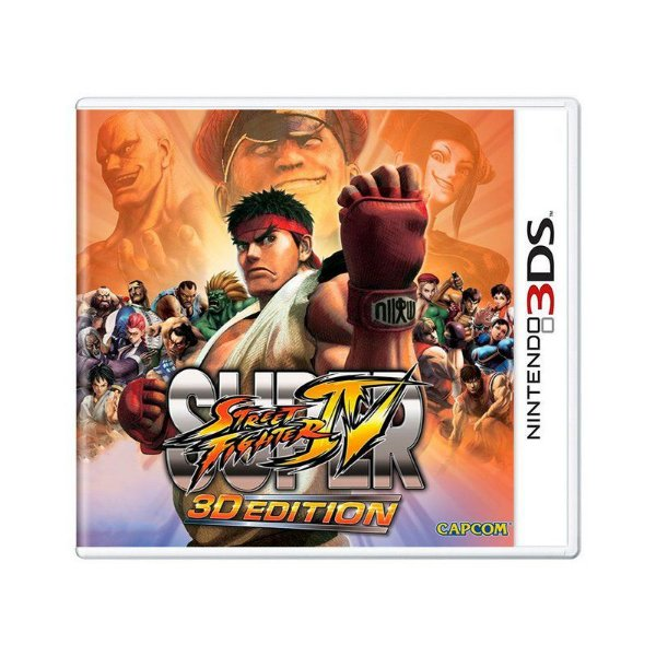 SUPER STREET FIGHTER IV 3DS USADO
