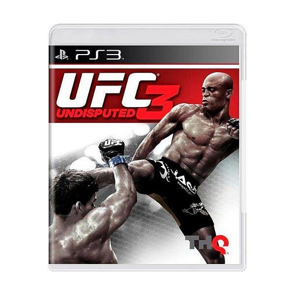 UFC UNDISPUTED 3 PS3 USADO