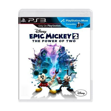EPIC MICKEY 2 THE POWER OF TWO PS3 USADO