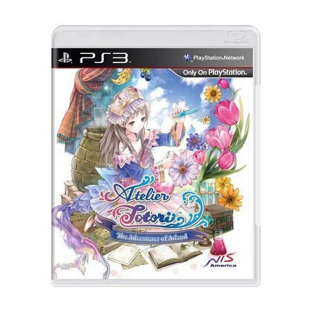 ATELIER TOTORI THE ADVENTURER OF ARLAND PS3 USADO