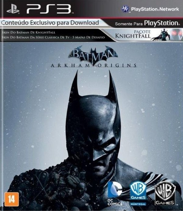 BATMAN ARKHAM ORIGINS PS3 USADO