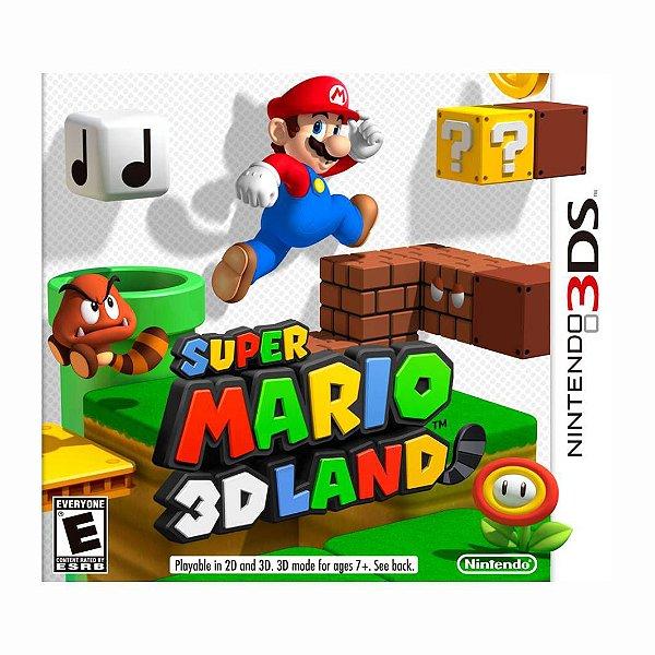 SUPER MARIO 3D LAND 3DS USADO