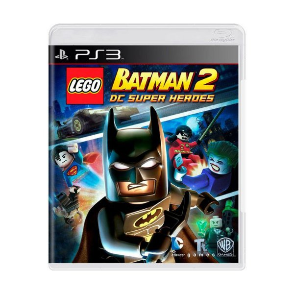 LEGO BATMAN 2 DC SUPER HEROES PS3 USADO