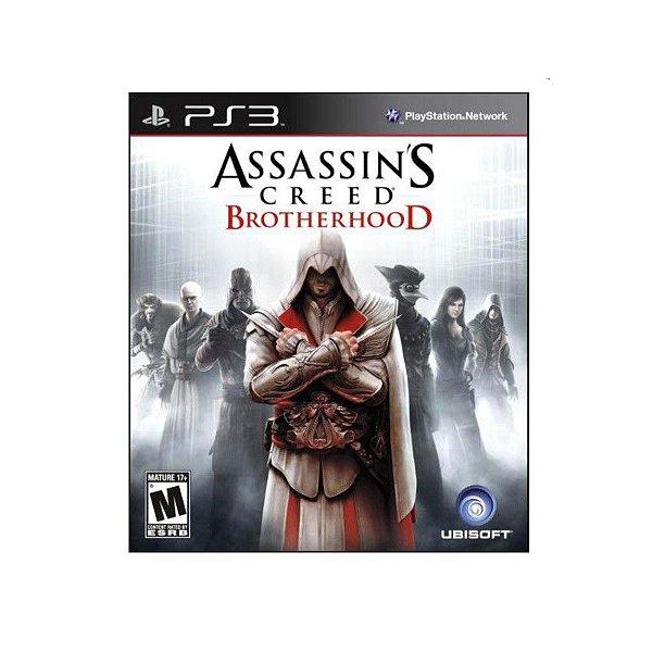 ASSASSINS CREED BROTHERHOOD PS3 USADO