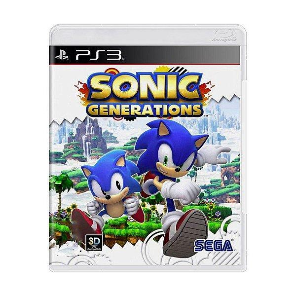 SONIC GENERATIONS PS3 USADO