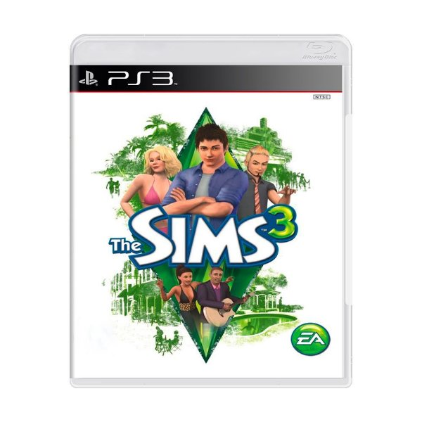 THE SIMS 3 PS3 USADO