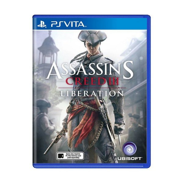 ASSASSINS CREED 3 LIBERATION PSVITA USADO