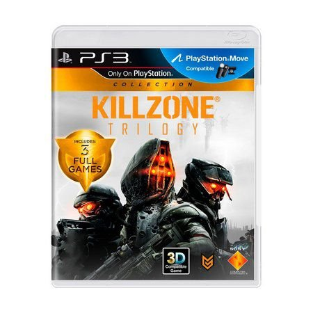 KILLZONE TRILOGY PS3 USADO