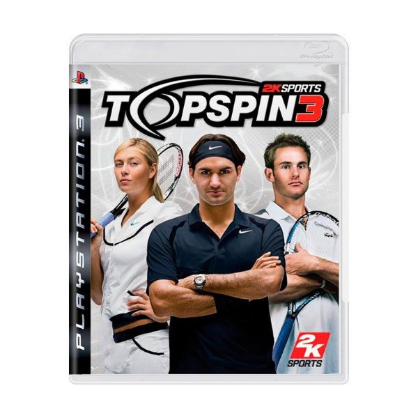 TOP SPIN 3 PS3 USADO