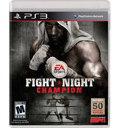 FIGHT NIGHT CHAMPION CHAMPION PS3 USADO