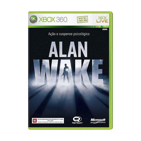 ALAN WAKE XBOX 360 USADO